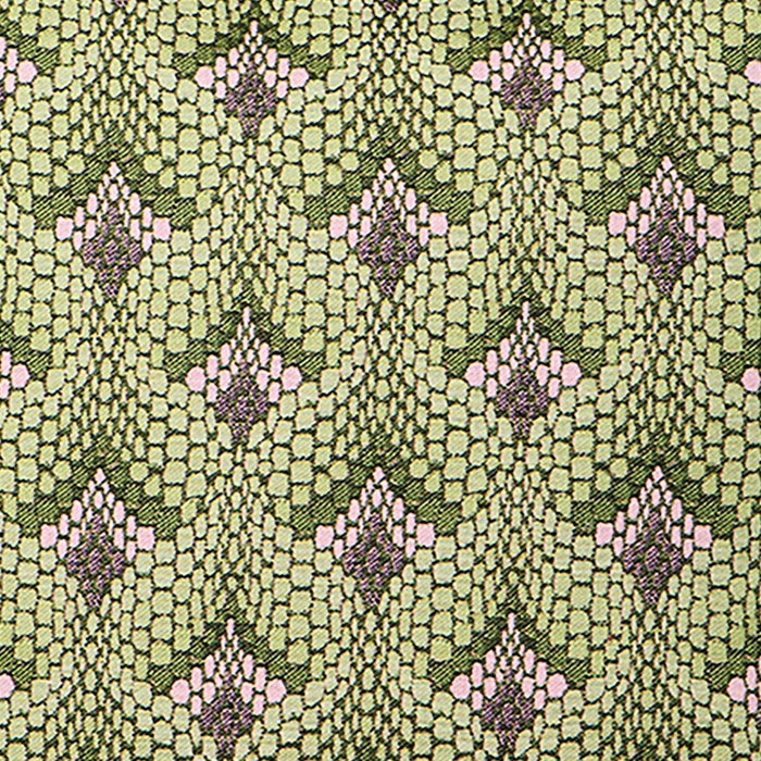 Tapestry Cotton Fabric Green