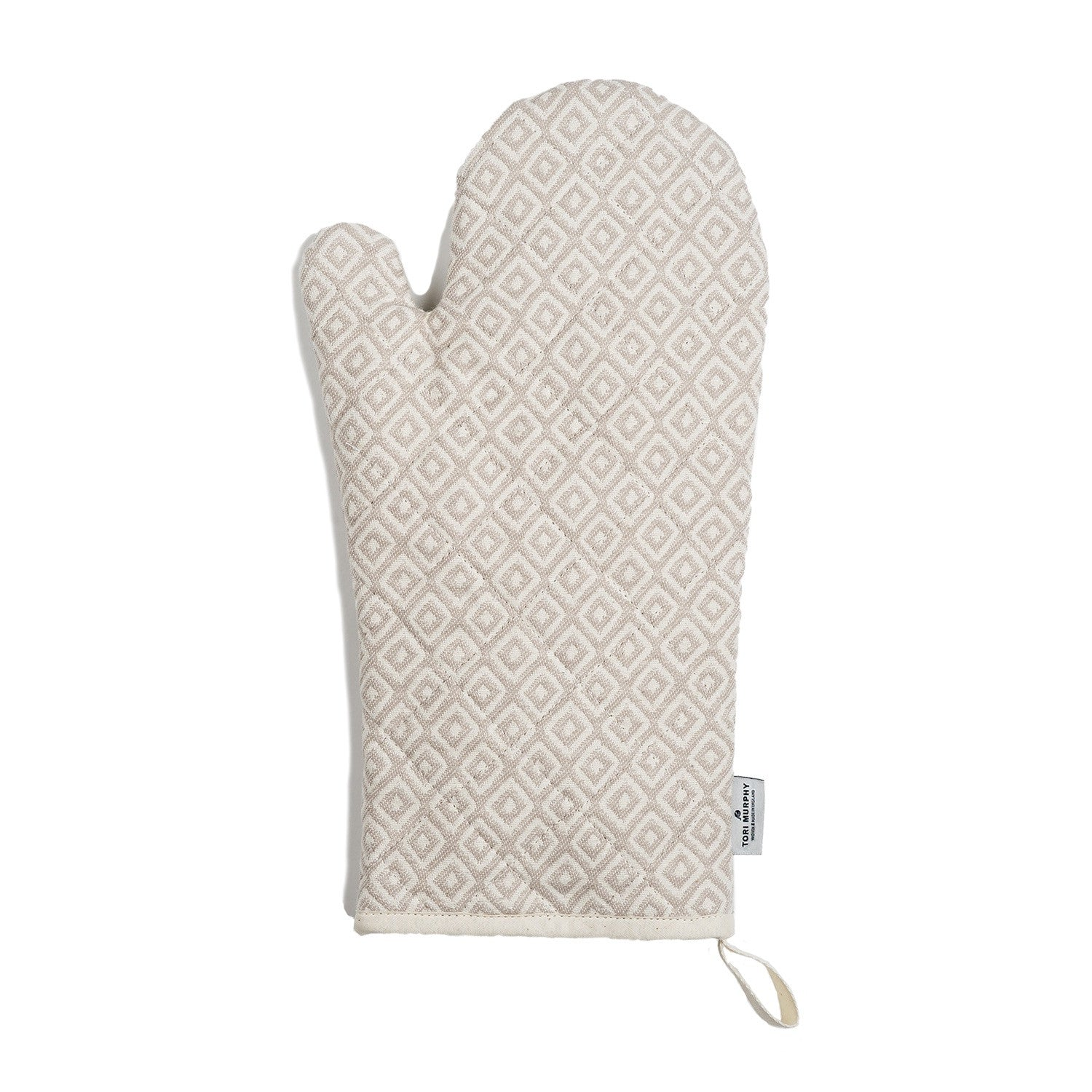 Broadway Oven Glove Linen on Fawn