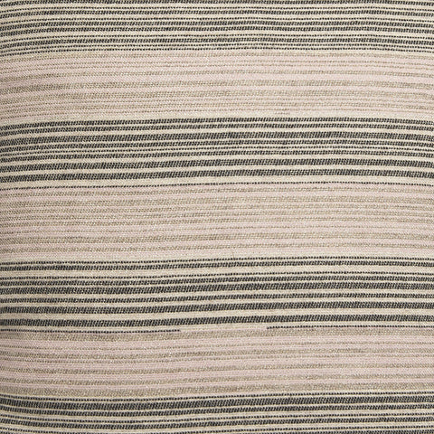 Marshall Stripe Strie' Wool Fabric Pink, Coal, Linen, Mushroom & Gold