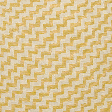Climbing Chevy Cotton Fabric Mustard and Cream