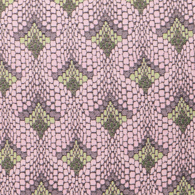 Tapestry Cotton Fabric Pink