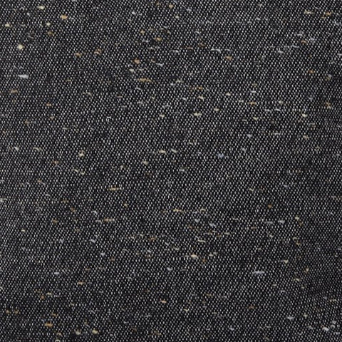Sandringham Plain Donegal Wool Fabric Charcoal