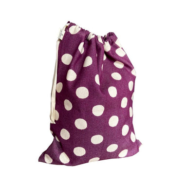 Dotty Spot Santa Sack Small Hyacinth