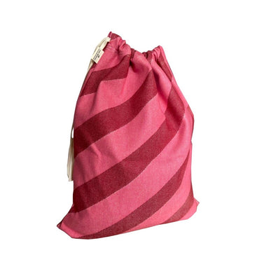 Totto Stripe Santa Sack Small Red & Pink