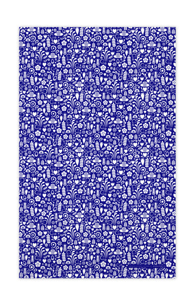 Blue - Dala Tea Towel