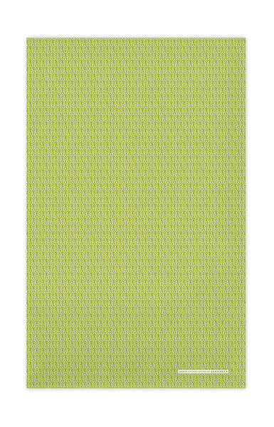 Green - Leaves Tea Towel