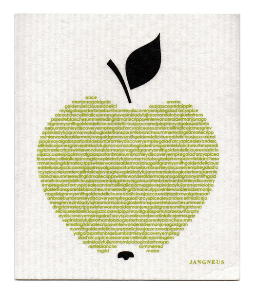 Green - Big Apple Dishcloth