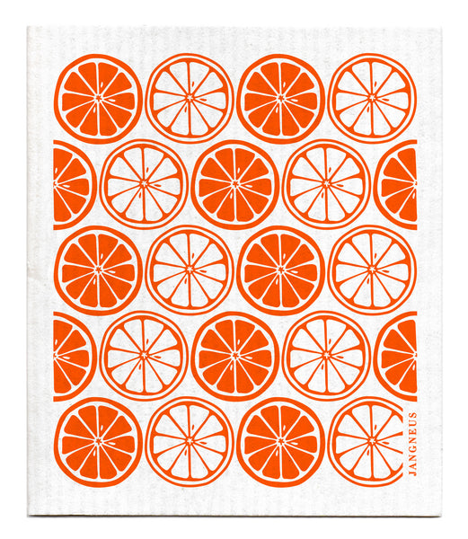 Orange - Citrus Dishcloth