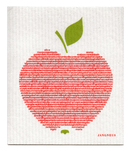 Red - Big Apple Dishcloth