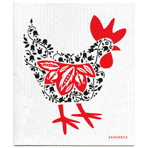 Black - New Hen Dishcloth