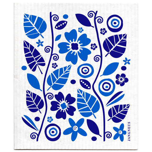 Blue - Garden Dishcloth