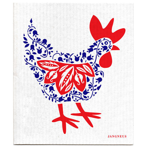 Blue - New Hen Dishcloth