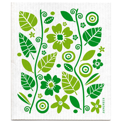 Green - Garden Dishcloth