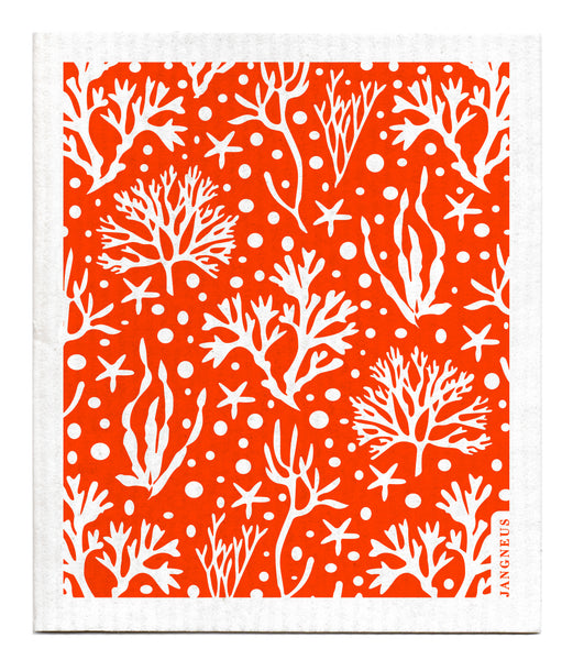 Orange - Coral Dishcloth