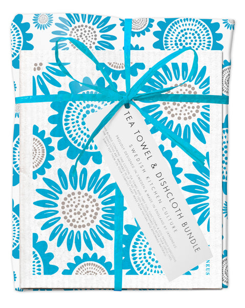 Bundle - Turquoise Sunflower