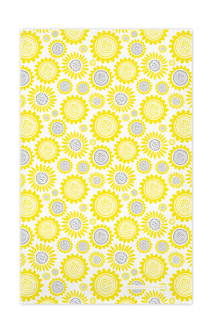 Yellow - Sunflower Tea Towel