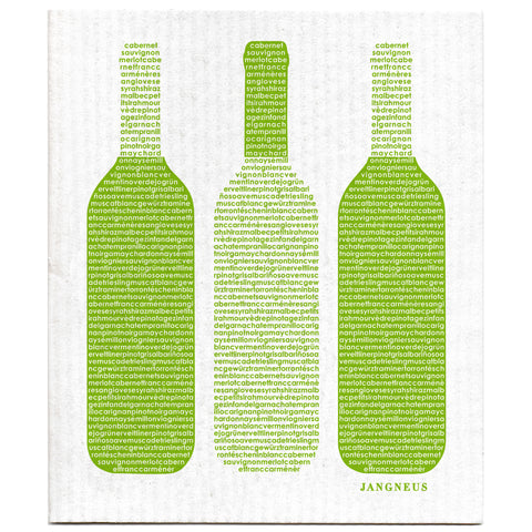 Green - Wine Dishcloth