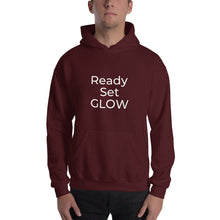 Load image into Gallery viewer, Ready, Set, GLOW Hooded Sweatshirt