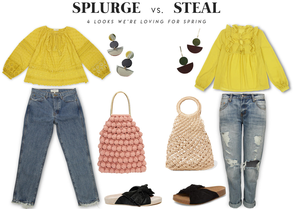 1a14749bb32 Splurge vs. Steal / Spring Looks We're Loving – BURU