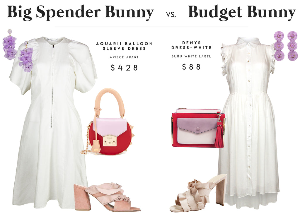 1b3476a69f0 Easter Bunny Ready Dresses / Splurge vs. Steal – BURU