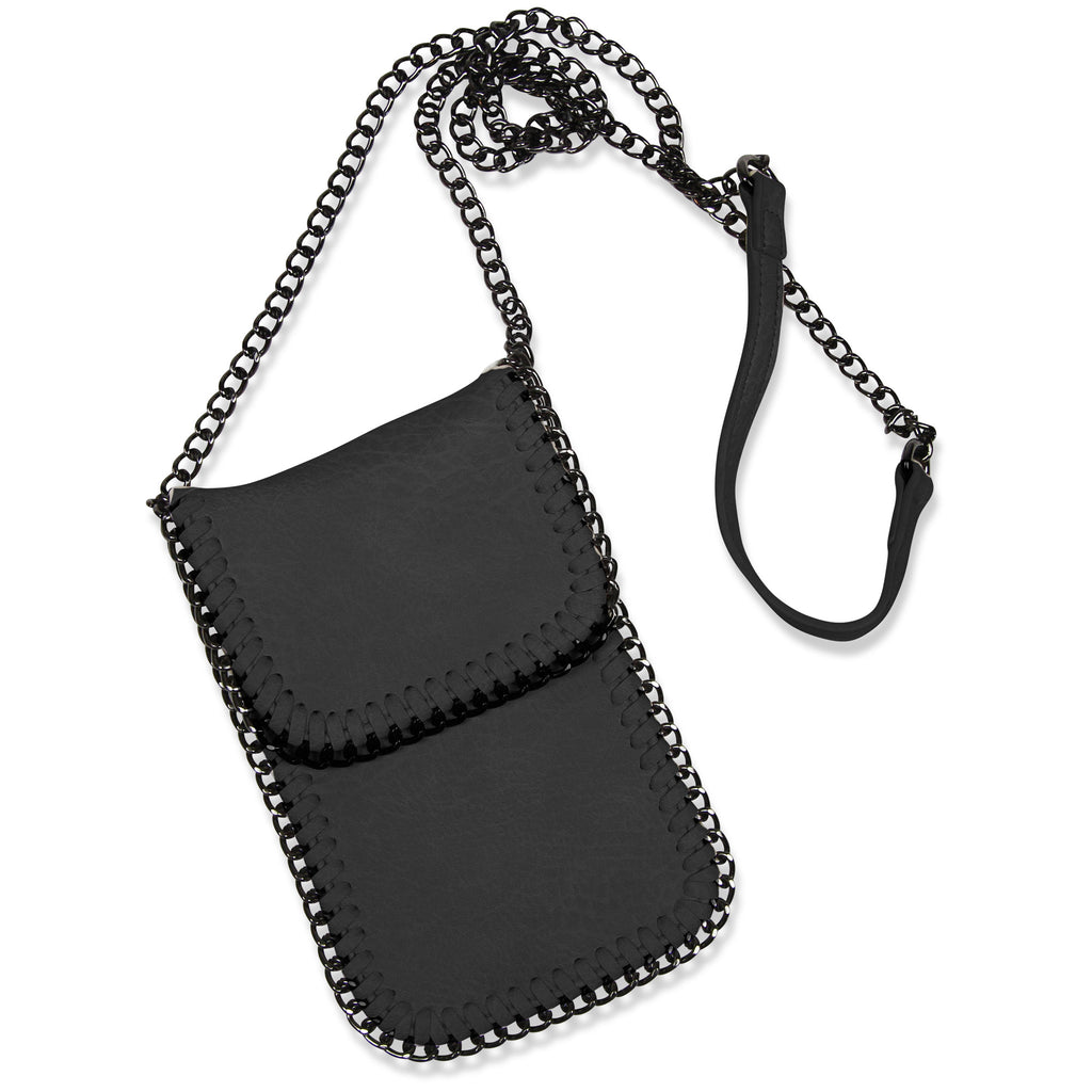 Crossbody Phone Holster - Black