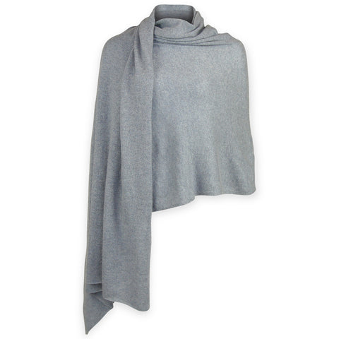 Cashmere Travel Wrap - Blue