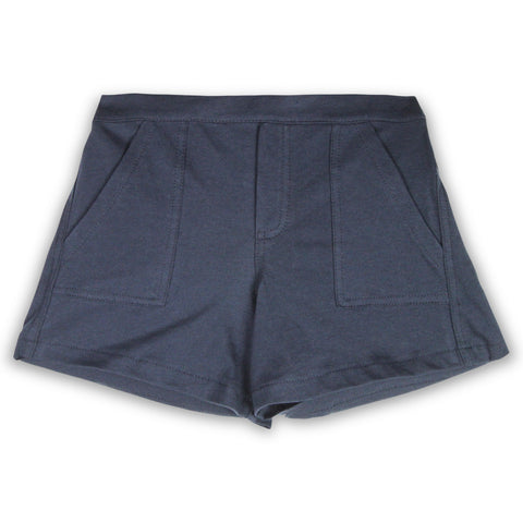 Mini Me Naomi Navy Knit Shorts