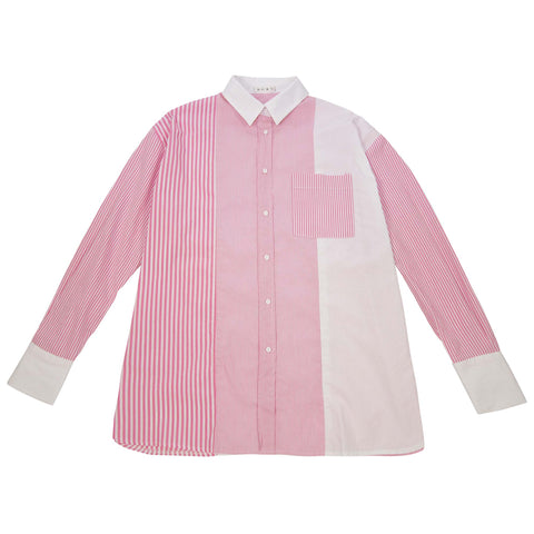 Peggy Sue Pinstripe Top - Pink