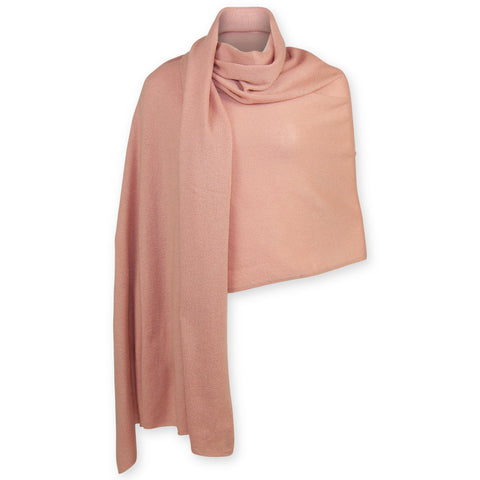 Cashmere Travel Wrap - Pink