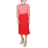 Skipper Sailor Tee - Red