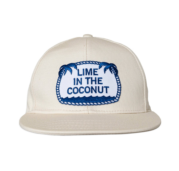 Lime in the Coconut ball cap