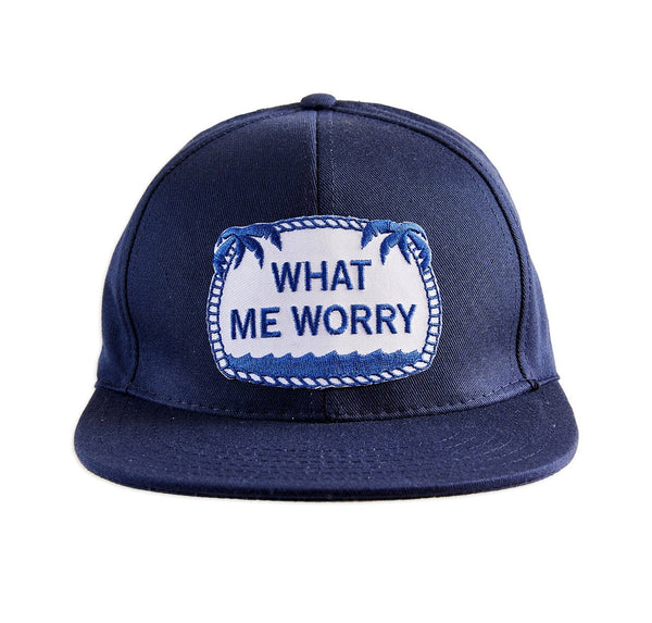 What Me Worry ball cap