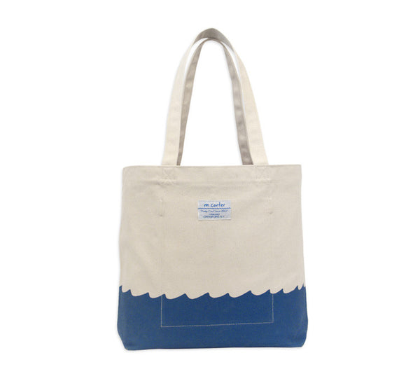 Wave Bottom Tote