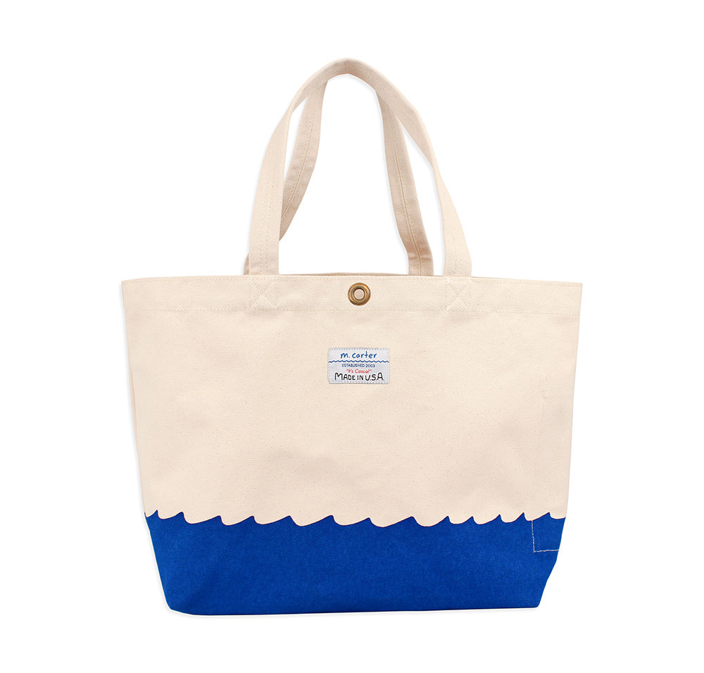Wave Bottom Beach Bag