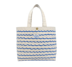 Wave Stripe Beach Bag