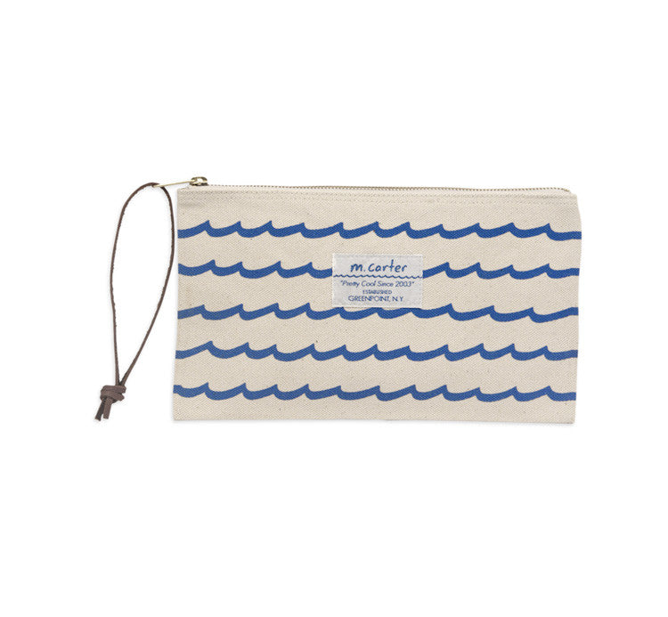 Wave Stripe Pouch