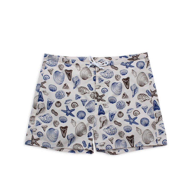 Shells Board Shorts (Bone)