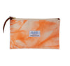 Canvas Clutch Crinkle Orange