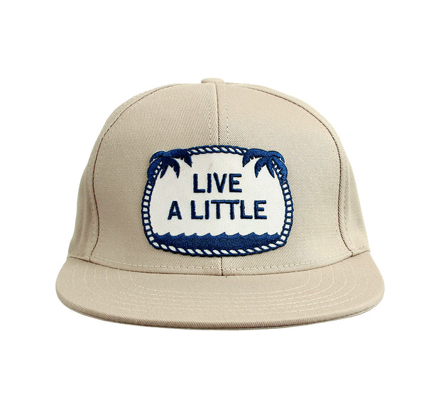 Live A Little ball cap