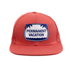 Permanent Vacation ball cap