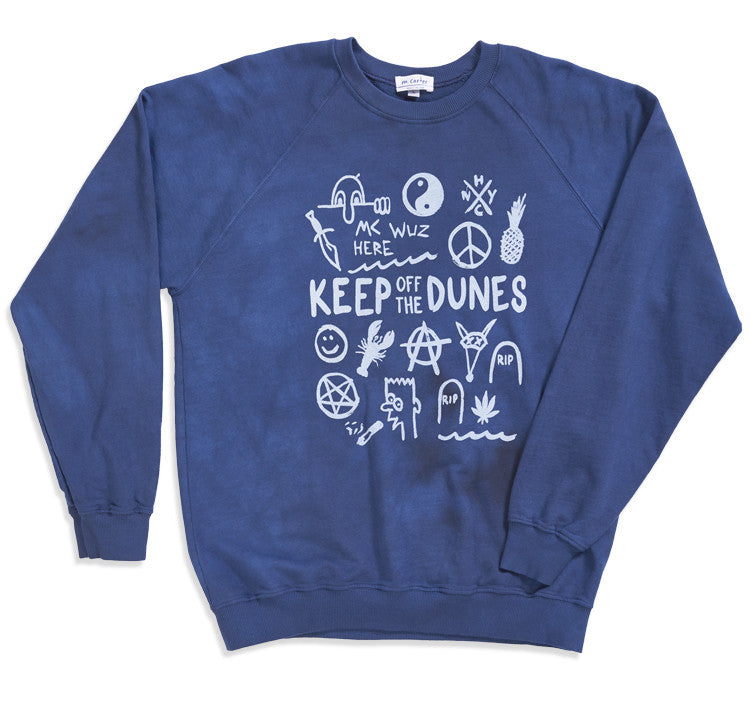 Graffiti Sweater (Navy)