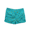 Shapes Swim Trunks (Teal)