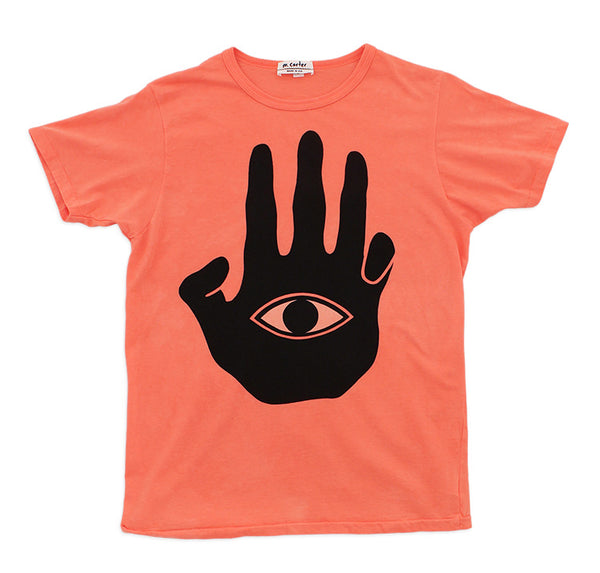 Hand Tee (Coral)