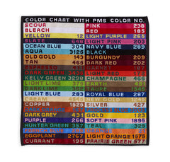 Color Chart Hand Towel
