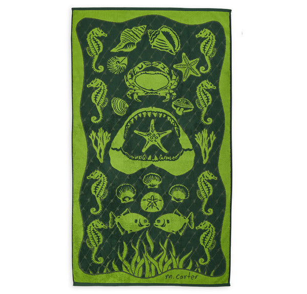 Net beach towel