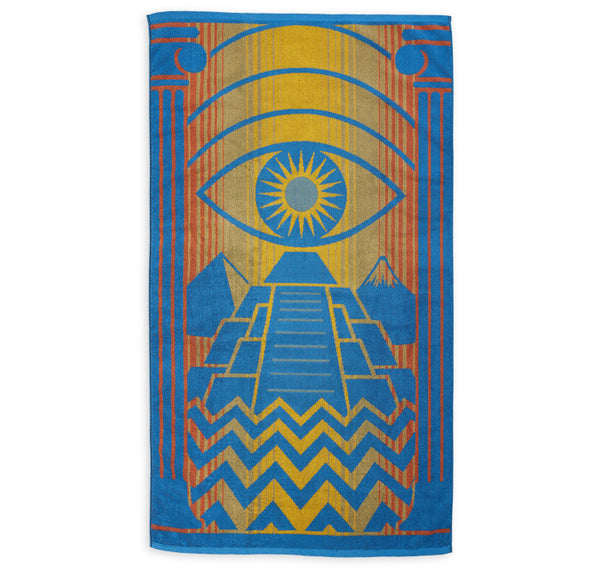 Pyramid beach towel