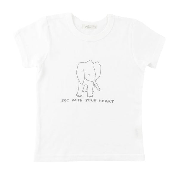 'see with your heart' tee