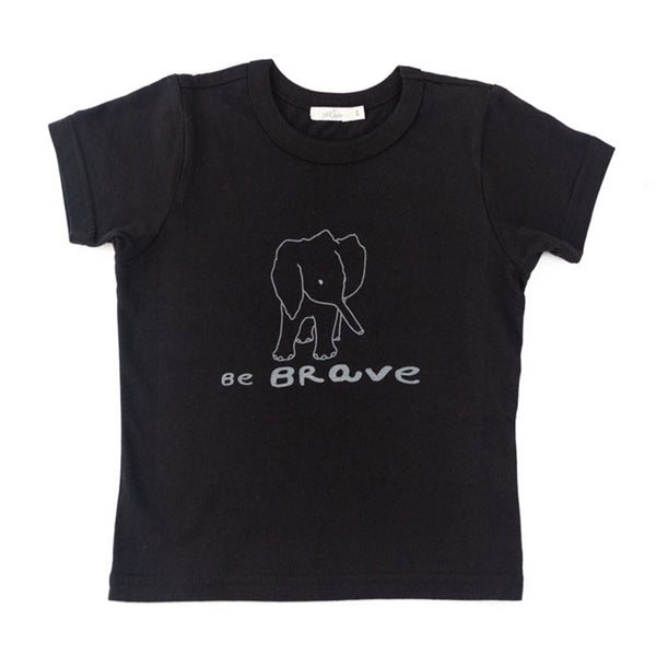'be brave' tee
