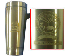 LASER ENGRAVED TRAVEL MUG