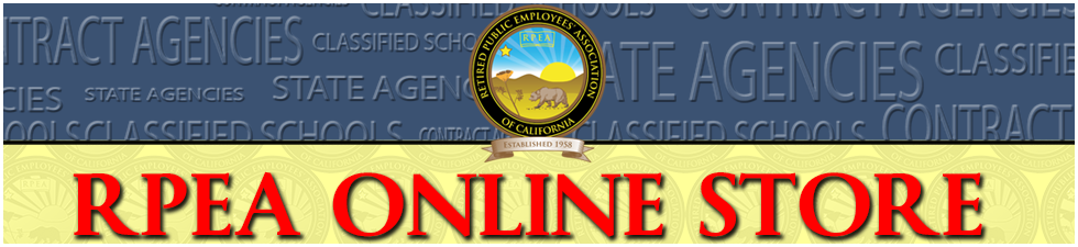Retired Public Employees Association Online Store